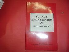 BUSINESS ADMINISTRATION AND MANAGEMENT DR J BATTY    JOB LOT 100 BOOKS  NEW SB
