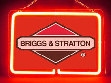 Briggs & Stratton Engine Hub Bar Display Advertising Neon Sign