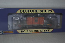 Bluford Shops 31160 UP/MP MOW Orange Short Body Bay Window  Caboose Ho Scale