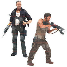 The Walking Dead TV Series 4 McFarlane Daryl Merle Dixon Action 2 Figure Set NEW