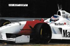 9x6 Photograph Mika Hakkinen, McLaren-Ford MP4/11B  Hungarian GP 1996