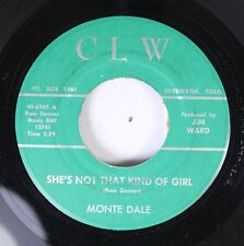 50'S & 60'S 45 Monte Dale - She'S Not That Kind Of Girl / The Sole'S Of My Shoes