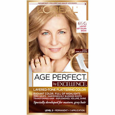 LOreal Paris Age Perfect Permanent Hair Color, 1 kit