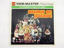View-Master DISNEY ON PARADE  #B517 - 3 REELS - MA