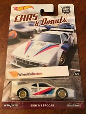 BMW M1 Procar * Cars & Donuts Car Culture 2017 Hot Wheels Case L