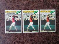 (3) 1977 TOPPS Baseball Jim Palmer #600 - Baltimore Orioles Legend