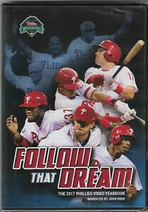 NEW! SEALED! Follow That Dream: The 2017 PHILADELPHIA PHILLIES Video Yearbook