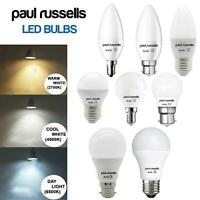LED CANDLE GOLF GLS Light Bulbs 3W 5W 7W 12W 15W BC ES SES 25W 40W 60W 100W 125W