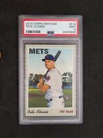 2019 Topps Heritage Pete Alonso Rookie Card RC #519 PSA 9 MINT Mets