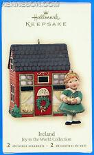 Joy to the World Collection Ireland 2 Hallmark Keepsake Christmas Ornaments 2007