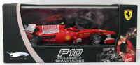 Hot Wheels 1/43 Scale T6266 - Ferrari F10 - F Alonso Bahrain GP 2010