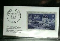 1953 3c General Patton Army Stamp GMA Gem MT 10