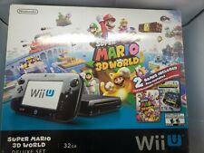 Nintendo Wii U 32 GB Super Mario 3D World Deluxe Set - Black