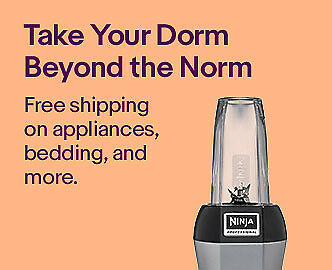 Take Your Dorm Beyond the Norm   Free shipping on appliances, bedding, and more.