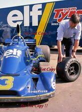 KEN Tyrell FOTOGRAFIA RITRATTO F1 1976 1