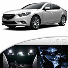 13 Lights Super White LED SMD Interior Light Kit For Mazda 6 2014-2016