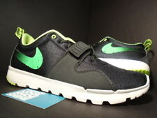 Nike Dunk AIR TRAINERENDOR SB TRAINER ENDOR 1 STUSSY BLACK VOLT WHITE GREEN 10.5