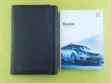 MAZDA 6 (2008 - 2010) Owners Manual / Handbook + Case / Wallet