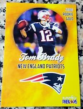TOM BRADY 2000 GOLD SP Rookie Card RC Patriots San Mateo 6 Superbowl Rings MVP $