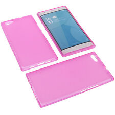Case for Doogee Y300 Cell Phone Pocket Cases TPU Rubber Case Pink