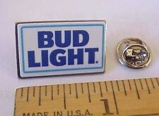 BUDWEISER BUD LIGHT BEER LICENSED ADVERTISING PROMO MINI LAPEL PIN