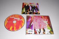 CD Original Disco Highlights Boney M. Modern Talking Snap 16.Tracks 2000  167