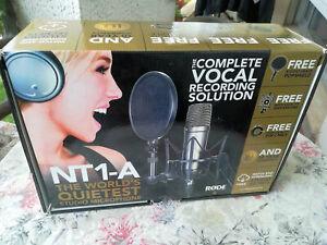 Rode NT1A Microfono a condensatore con accessori - Da studio di registrazione