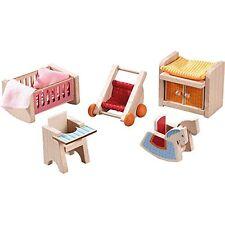 Haba Little Friends Puppenhaus-Möbel Kinderzimmer Zubehör Babypuppen Spielzeug