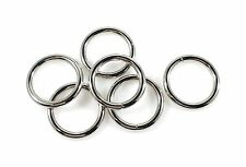 "Steel Rings Welded Nickel Plate 3/4"" Id 75 pcs"