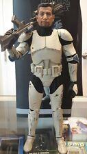 1/6 Star Wars Clone Trooper 501st Legion Fives Action Figure Loose Sideshow JC