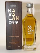 Kavalan Whisky 5 cl 40 %Single Malt mini flasche bottle miniature bottela