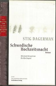 Stig Dagermann: Schwedische Hochzeitsnacht