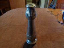 "vintage 10"" cast metal lamp part piece base column steampunk G2"