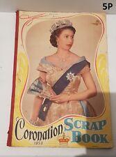 Queen Elizabeth II Coronation Scrap Book 1953
