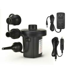12V DC Electric Air Pump for Intex Inflatable Air Mattress Bed Boat Couch Pool
