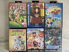 Sega Mega Drive Games Bundle PAPERBOY