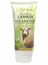 WILD FERNS LANOLIN HAND & NAIL CREME with ROSEHIP OIL AND KERATIN 85ml