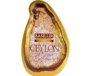 CEYLON BLACK TEA BASILUR Island of Tea -  GOLD Special pure loose leaf Caddy
