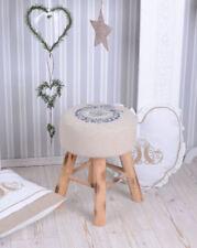 Nostalgic Stool Stool Vintage Style Fussbänkchen Sitting Stool Wood Stool New