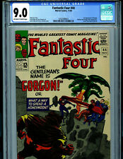 Fantastic Four #44 CGC 9.0  Marvel Comic Amricons 1st Gorgon K25