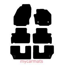 Ford S-Max (2011-2015) Totalmente a Medida Coche Tapetes Nuevo Negro de goma Checker