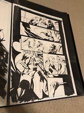 Jock Batman Detective Comics #862 Original Art Great Action Pre Black Mirror