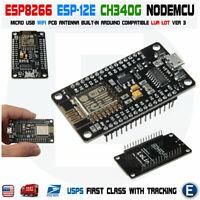 NodeMCU ESP-12E ESP8266 WiFi LUA IoT CH340G V3 New Version Arduino Compatible
