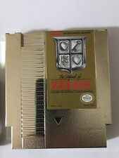 The Legend of Zelda Nintendo NES Game Gold Cartridge with Sleeve Only