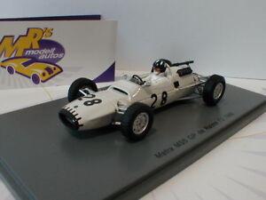 "Spark S5411 # Matra MS5 Nr. 28 Grand Prix de Reims 1966 F2 "" Graham Hill "" 1:43"