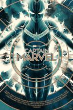IN-HAND Captain Marvel Variant Mondo Poster Art Print Matt Taylor Comics Movie