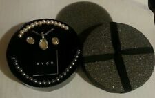 Avon Pearl Effect Necklaces, Chain Necklace and Earrings - New Unused - FREE P&P