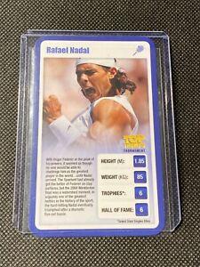 RAFAEL NADAL - TOP TRUMPS - SPORTING HEROES 2009 - RARE