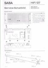 Saba Service Manual für HiFi Studio 8070 K