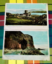 Iona Cathedral  St Orans Chapel Fingal's Cave  Staffa Oilette Postcards WR & S